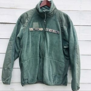 US Air Force Army Fleece, Military Jacket, L reg